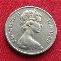 Fiji 10 Cents 1985 KM# 30  *V1 - Fiji