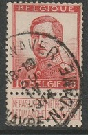 COB N° 118 Oblitération WAVRE NOTRE DAME 1914 - 1912 Pellens