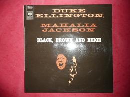 LP N°2084 - DUKE ELLINGTON MAHALIA JACKSON  - BLACK BROWN AND BEIGE - REF : S 63363 - BELLE GALETTE - Jazz