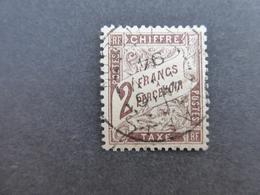 FRANCE Taxe N° 26  Cote 200 €  Oblitéré - Postage Due