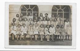 37   CARTE- PHOTO  TOURS  LYCEE 1931-1932     BON ETAT 2 SCANS - Tours
