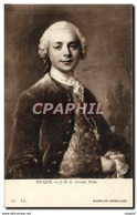 CPA Tocque Musee De Versailles Gresset Poete - Peintures & Tableaux