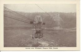 Aerocar Over Whirlpool, Niagara Falls, Ontario, Publ. By F.H. Leslie (18.398) - Niagara Falls