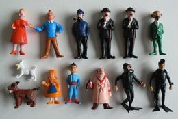 Tintin, Kuifje Esso Belvision 1973, 13 Figurines In Mint Condition!! - Andere Verzamelingen