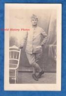 CPA Photo - YERRES - Portrait D'un Poilu Du 31e Régiment D' Infanterie , Patch à Droite - Photographie Mullard - Guerra 1914-18