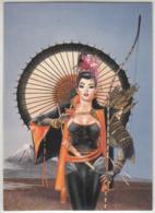 Christos Achilleos 1992 #38 Samurai Girl FPG Cards - Trading Cards
