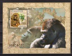 MOZAMBIQUE - 2011 Fauna - APES  M1971 - Timbres