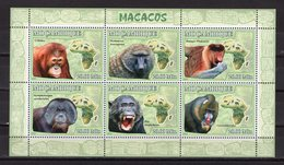 MOZAMBIQUE - 2011 Fauna - APES  M1972 - Timbres