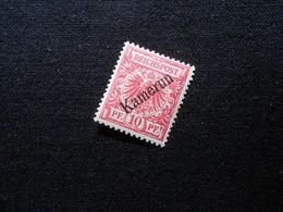D.R.Mi 3a  10Pf*MLH - Deutsche Kolonien ( Kamerun ) 1897 - Mi 7,00 € - Geprüft Jäschke - Colonie: Cameroun