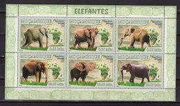 MOZAMBIQUE - 2007 Fauna - ELEPHANTS  M1975 - Timbres