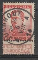 COB N° 118 Oblitération TURNHOUT 14 - 1912 Pellens