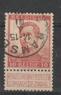 COB N° 118 Oblitération RELAIS RAMSEL - 1912 Pellens
