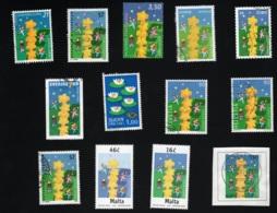 Lot Unterschiedlicher Länderausgaben Zur Expo 2000 Mi 2113 Yt 1945 Gestempelt O Siehe Scan - Gemeinschaftsausgaben