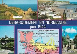 50 Circuit Des Plages Du Débarquement En Normandie (2 Scans) - Francia