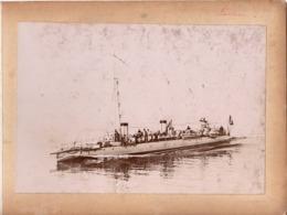 Navire Bateau De Guerre C.1898  FORBAN Croiseur Cuirassé ? - Marine Nationale - Anciennes (Av. 1900)