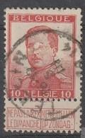 COB N° 118 Oblitération TELLIN  1914 - 1912 Pellens
