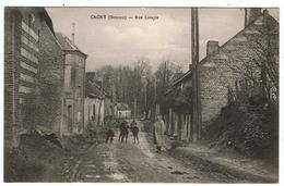 """Cagny / La Rue Latapie / 1916 / Ed. """" Paradis """" - Francia"""