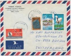 Türkei - In Die Schweiz Gelaufener Brief - Brieven En Documenten