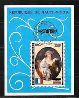 République De Haute Volta Bf 5H O  (Europafrique) - Guinée Equatoriale