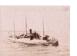Navire Bateau De Guerre C.1898  LA BOMBE Croiseur Cuirassé ? - Marine Nationale - Photographs