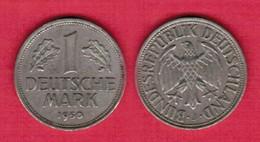 GERMANY  1 MARK 1950 J (KM # 110) #5505 - 1 Mark