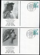 Bund PP103 D2/021 ANSELM FEUERBACH Speyer Sost. Geburtshaus 1980 - [7] Federal Republic