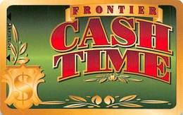 Frontier Casino Las Vegas, NV - BLANK Slot Card - Cash Time - Casino Cards