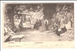 BRUNATE. Cpa    - IL Pissarottino.  (scans Recto-verso) - Como