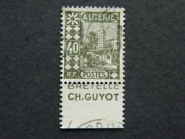 Algérie Scott 45 Avec Bande Publicitaire - Algérie (1924-1962)