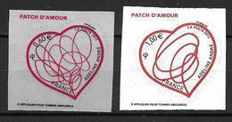 France 2012 Adhésif  N° 648/649 Neufs St Valentin Adeline André Cote 8 Euros - Adhesive Stamps