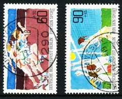 BERLIN 1982 Nr 664-665 Zentrisch Gestempelt X622B2E - [5] Berlin