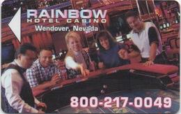 Carte Clé Hôtel : Rainbow Hotel Casino : Wendover NV - Cartes D'hotel