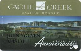 Cache Creek Casino Resort CA : Anniversary Pearl Card - Cartes De Casino