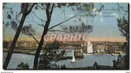 CPA Concarneau Vue Generale Bateaux - Concarneau