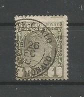 Monaco Yvert 1 Prince Charles III Oblitéré Used 1885 Cote: 20,00€ - Gebraucht