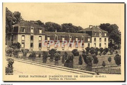 CPA Ecole Nationale D&#39Agriculture De Grignon Pavillon De L&#39Internat - Grignon