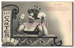 CPA Les Jeux Cartes Le Piquet La Manille L&#39ecarte - Cartes à Jouer