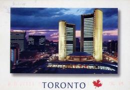 Toronto - Canada - City Hall And Nathan Phillips Square - Formato Grande Viaggiata – E 14 - Toronto