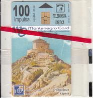 MONTENEGRO - Njegoseva Kapela, Tirage 50000, 08/00, Mint - Montenegro