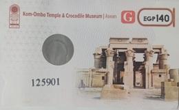 EGYPT | Kom-Ombo Temple | Enterance Ticket | (Egypte) (Egitto) (Ägypten - Tickets D'entrée