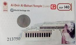 EGYPT | Al-Deir Al-Bahari Temple | Enterance Ticket | (Egypte) (Egitto) (Ägypten - Tickets D'entrée