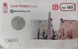 EGYPT | Luxur Temple | Enterance Ticket | (Egypte) (Egitto) (Ägypten - Tickets D'entrée