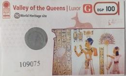 EGYPT | Valley Of The Queens | Enterance Ticket | (Egypte) (Egitto) (Ägypten) - Tickets D'entrée