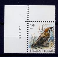 BUZIN  * Nr 2347 * 6-2-92 * Postfris Xx * DOF WIT - 1985-.. Oiseaux (Buzin)