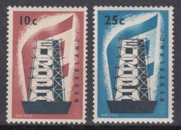Netherlands 1956 Europa CEPT Mi#683-684 Mint Never Hinged - 1956