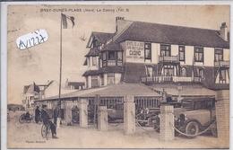 BRAY-DUNES-PLAGE- LE CASINO- ET LE PARKING DU GRAND-HOTEL DE LA DIGUE- LES BELLES VOITURES - Bray-Dunes