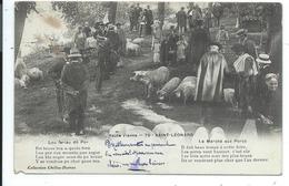 Saint Léonard , Le Marché Aux Porcs ,st Léonard - Saint Leonard De Noblat
