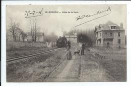 Valmondois Halte De La Naze,train , Locomotive à Vapeur - Valmondois