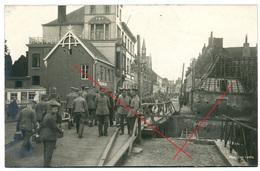 Comines-Warneton - Komen-Waasten - Deutsche Besetzung - Carte  Photo Allemande 1914-1918 WWI - Comines-Warneton - Komen-Waasten