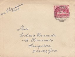 Letter 1957: Pakistan To Sangolda, Bar Des Goa - Pakistán
